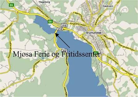 kart brumunddal Kart / Nærmiljø | Mjøsa Ferie og Fritid kart brumunddal
